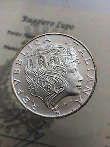 500-Livre-Bruecke-Milvio-1991-FDC-der-Republik-Italienisch-Gedenkmuenzen