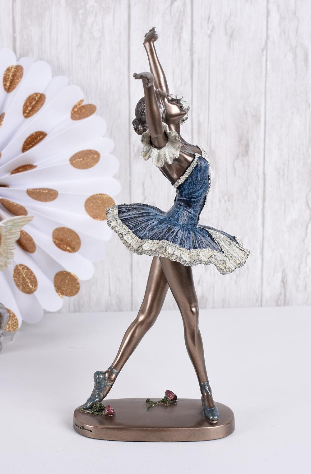 PRIMABALLERINA Bailarina Figura femenina Escultura Ballet FIRMADO