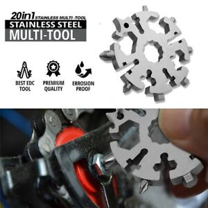 20-In-1-Multi-Tool-Stainless-Steel-Snowflake-Shape-EDC-Flat-Cross-Screwdriver-US