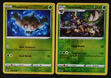 Phantump 014//192 Common Reverse Holo Pokemon Card NM Rebel Clash