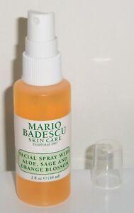 Details About Mario Badescu Facial Spray Aloe Sage Orange Blossom 2oz Travel Size Brand New