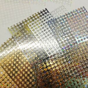 Sequin 5mm Star Punch Strip Punchinella Ribbon 60mm x 60ft Made in USA