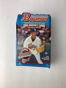 2004-Bowman-Draft-Picks-And-Prospects-Baseball-Hobby-Opened-Box