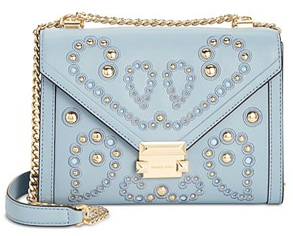 Michael Kors Whitney Large Embellished Shoulder Bag 30t8gxil3u Pale ... 1cca7273b99a7