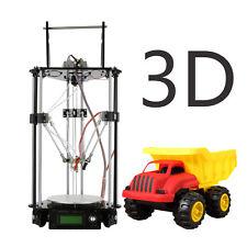 3D Printer Delta Rostock G2s doppio di estrusione stampante 3D PLA,ABS,Nylon