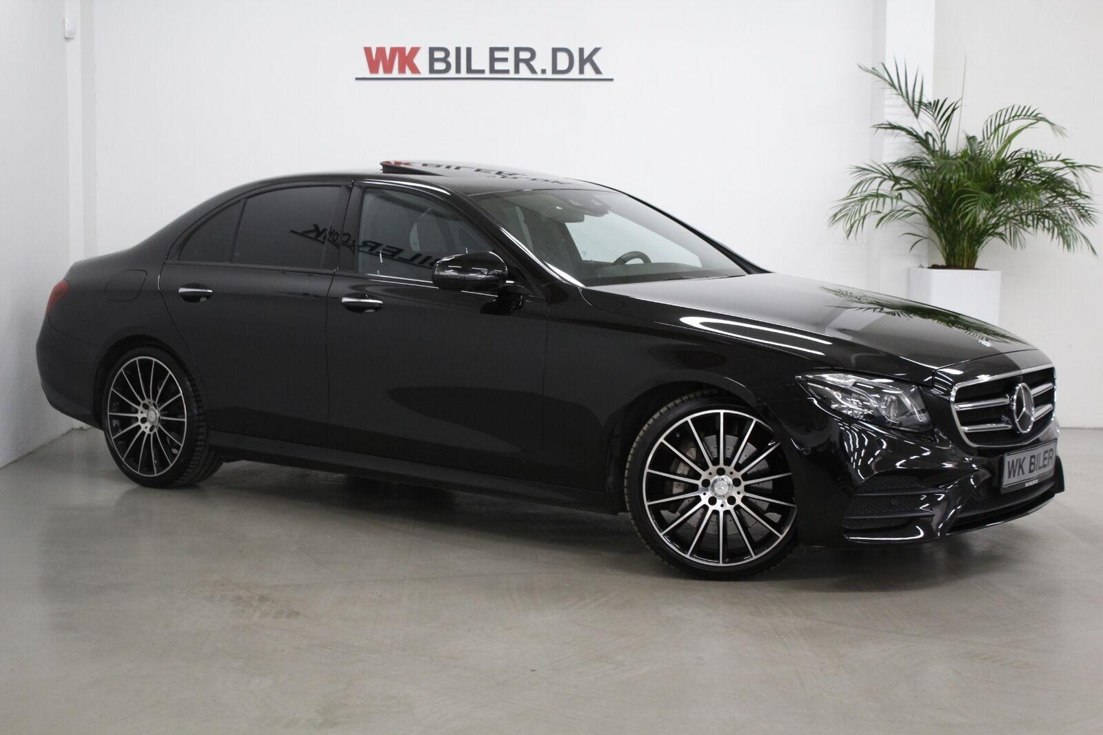 Mercedes E350 d 3,0 AMG Line aut. 4d - 2.895 kr.