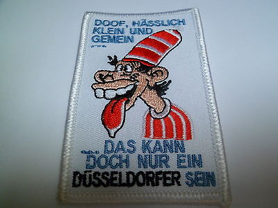 Anti DEG Aufnäher Anti Düsseldorf  KEC Haie Krefeld KEV Iserlohn Roosters