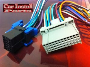 s l300 pontiac oem radio w onstar wire harness plug 2003 08 ebay Aftermarket Radio Wire Harness Adapter at crackthecode.co