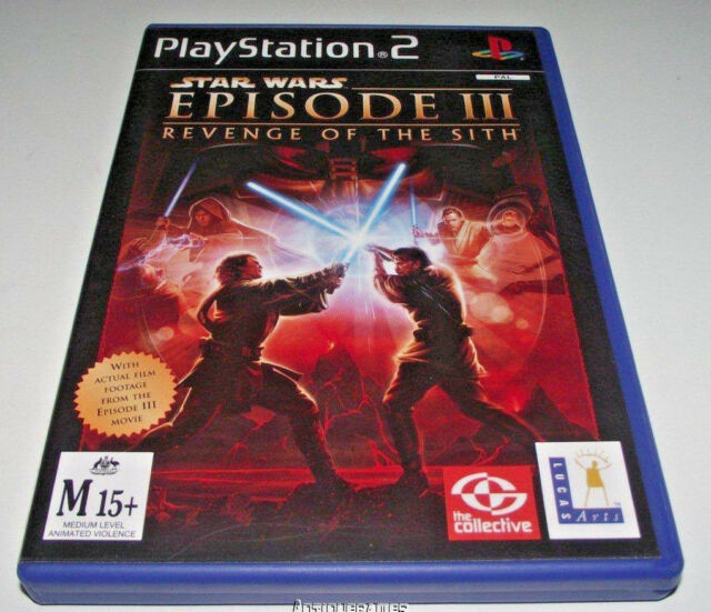 Star Wars Episode Iii Revenge Of The Sith Playstation 2 Ps2 Game Pal For Sale Online Ebay
