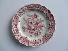 "Ridgway China Windsor Pink 9 7/8"" Dinner Plate Floral&Birds StaffordshireEngland"