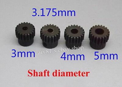 Alloy Steel Motor Gear Inner Diameter 3mm 4mm 5mm 0.5 Modulus 20 Teeth Gears