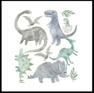 DIY-Wall-Stickers-Nursery-Kids-Room-Removable-Mural-Decal-Decor-Dinosaurs-Uk