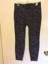 0bc138a9a22a8a item 3 Women's black/white/grey old navy mid-rise ponte-knit leggings size  M -Women's black/white/grey old navy mid-rise ponte-knit leggings size M