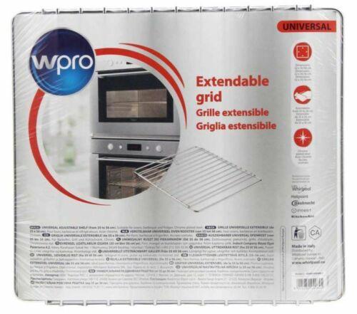 en acier chromé Wpro C00385607 32 x 35//56cm Grille extensible pour four