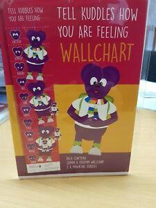 Tell-Kinship-Care-Kuddles-the-Bear-How-you-are-Feeling-Wall-Chart