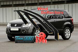 For Suzuki Grand Vitara 2005 - 2014  5.doors Wind deflectors 4.pc  HEKO  28617