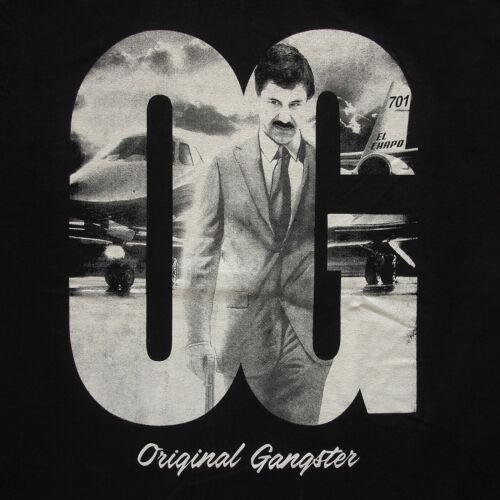 Original Gangster Chapo Guzman Mexico Boss Narco Drug Cartel Graphic T-Shirts