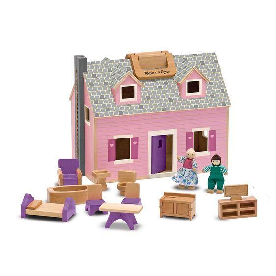 profitto zero MELISSA e Doug piegare & & & GO Mini Casa delle Bambole - 13701-NUOVO   migliore vendita