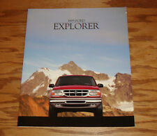 Original 1995 Ford Explorer Sales Brochure 95 XL XLT Sport Eddie Bauer Limited