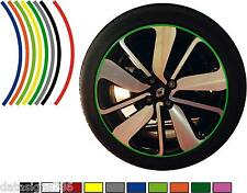 10mm Premium Alloy  Wheel Rim Tape Stripes Stickers Graphics Decals