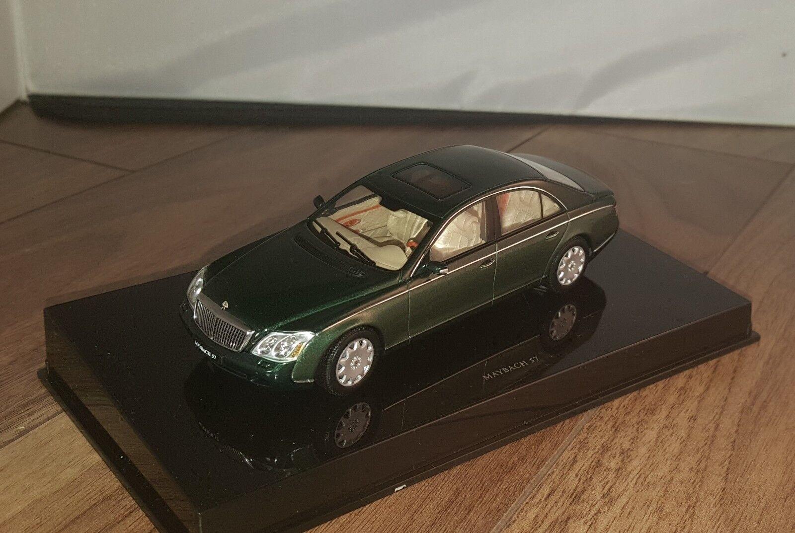 2007 maybach 57 limousine w240 - 1   43 autoart äußerst detaillierte g
