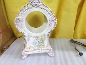 Bailey Banks And Biddle Co Vintage Porcelain Clock Ebay