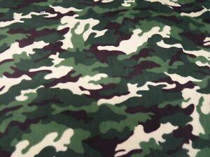 Woodland Fox Printed Polar Fleece Warm Soft Fabric material Anti Pill 150cm wide