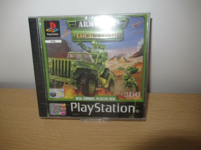 ARMY MEN LOCK 'N' LOAD COMPLETE  PS1 new sealed pal version