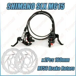 Shimano Deore M6000 MTB Hydraulic Disc Brake Set Front/&Rear Ice-Tech RT56 Rotors
