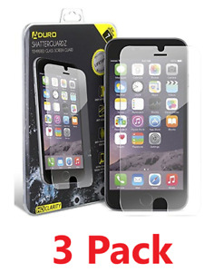 Three (3) Pack Tempered Glass Screen Protector iPhone 6 / 6S / 7 / 8 / 7 (Plus)
