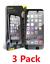 TROIS-3-Pack-De-Verre-Trempe-Protecteur-d-039-ecran-iPhone-6-6-S-7-8-7-Plus miniature 1