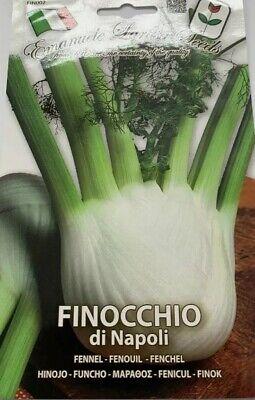 50 Finocchio di Napoli semi seeds sementi orto vegetali ortaggi vegetable