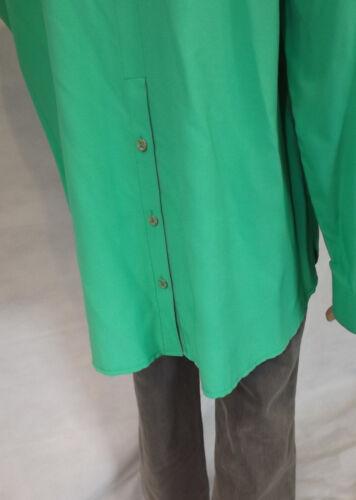 ★ ULLA POPKEN ★ 42 42//44  ~ Trendige Blusen ~ langarm ~ grün  ~ Hemdbluse