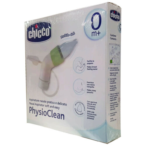 Nasal Aspirator soft and easy Chicco PhysioClean