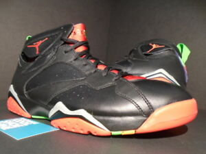 brand new 2d4c0 fc5e7 Details about NIKE AIR JORDAN VII 7 RETRO MARVIN THE MARTIAN BLACK RED  GREEN PULSE BRED 11.5
