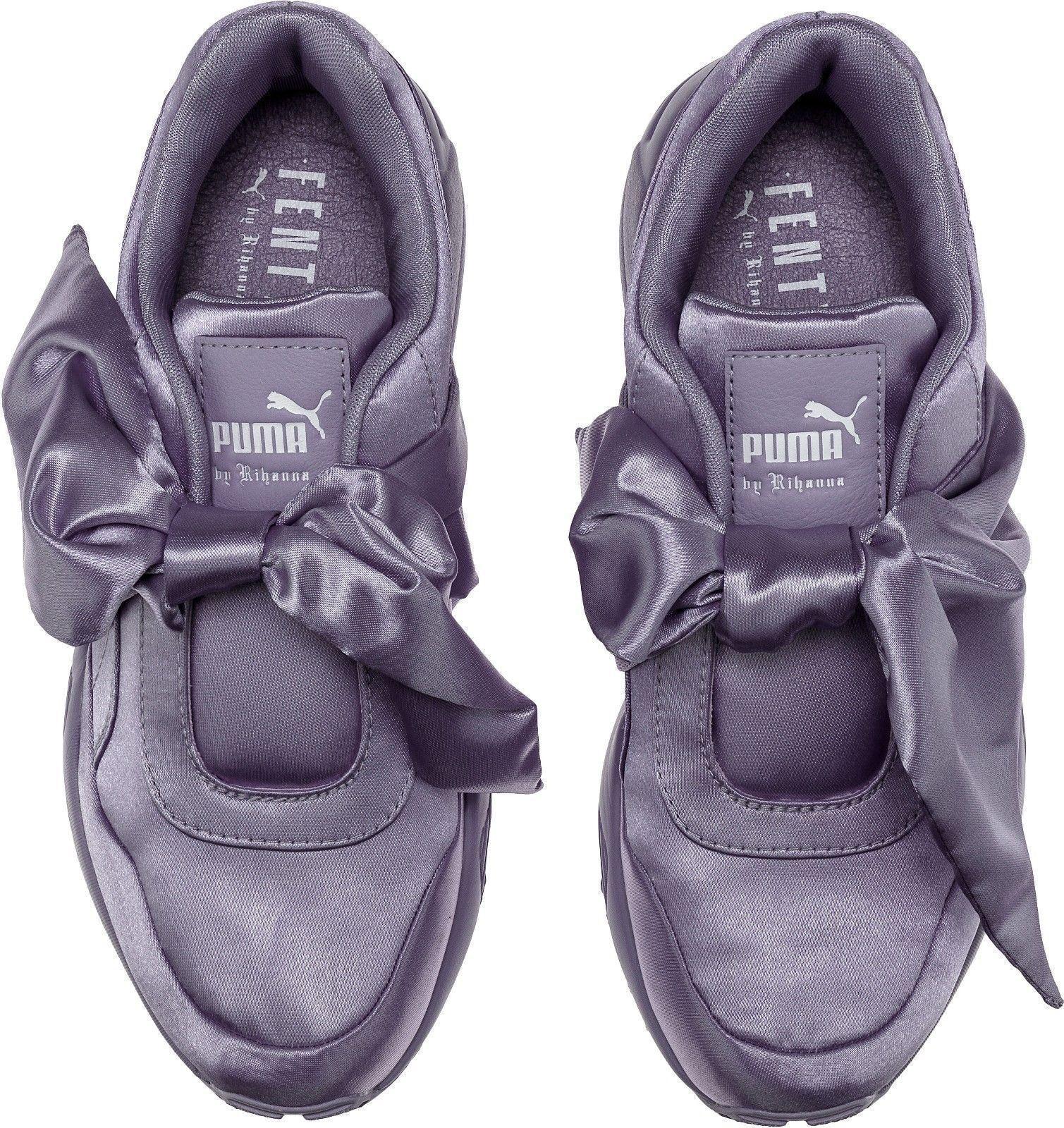 Wmns Puma X Fenty Rihanna Bow Sneaker Sweet Sweet Sweet Lavender Satin 365054-03 18671d