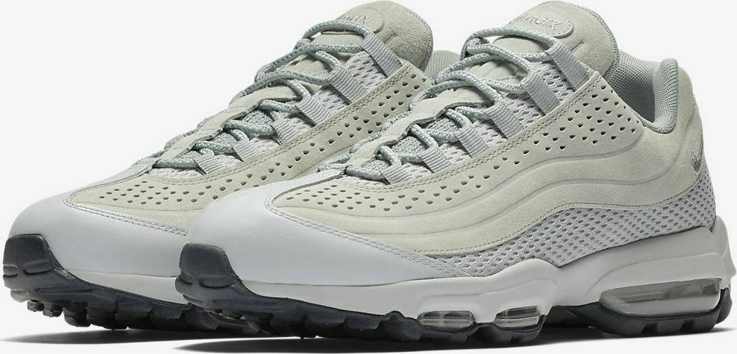 Mens Nike Air Max 95 Ultra Premium BF Suede Grey Stone AO2438 001 Size 7_9
