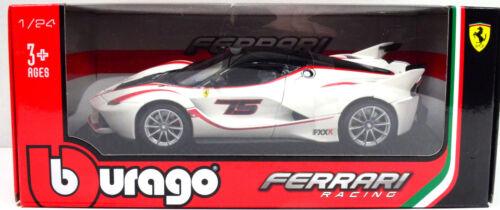 FERRARI FXX K BIANCO-ROSSO #75 scala 1:24 da BBURAGO