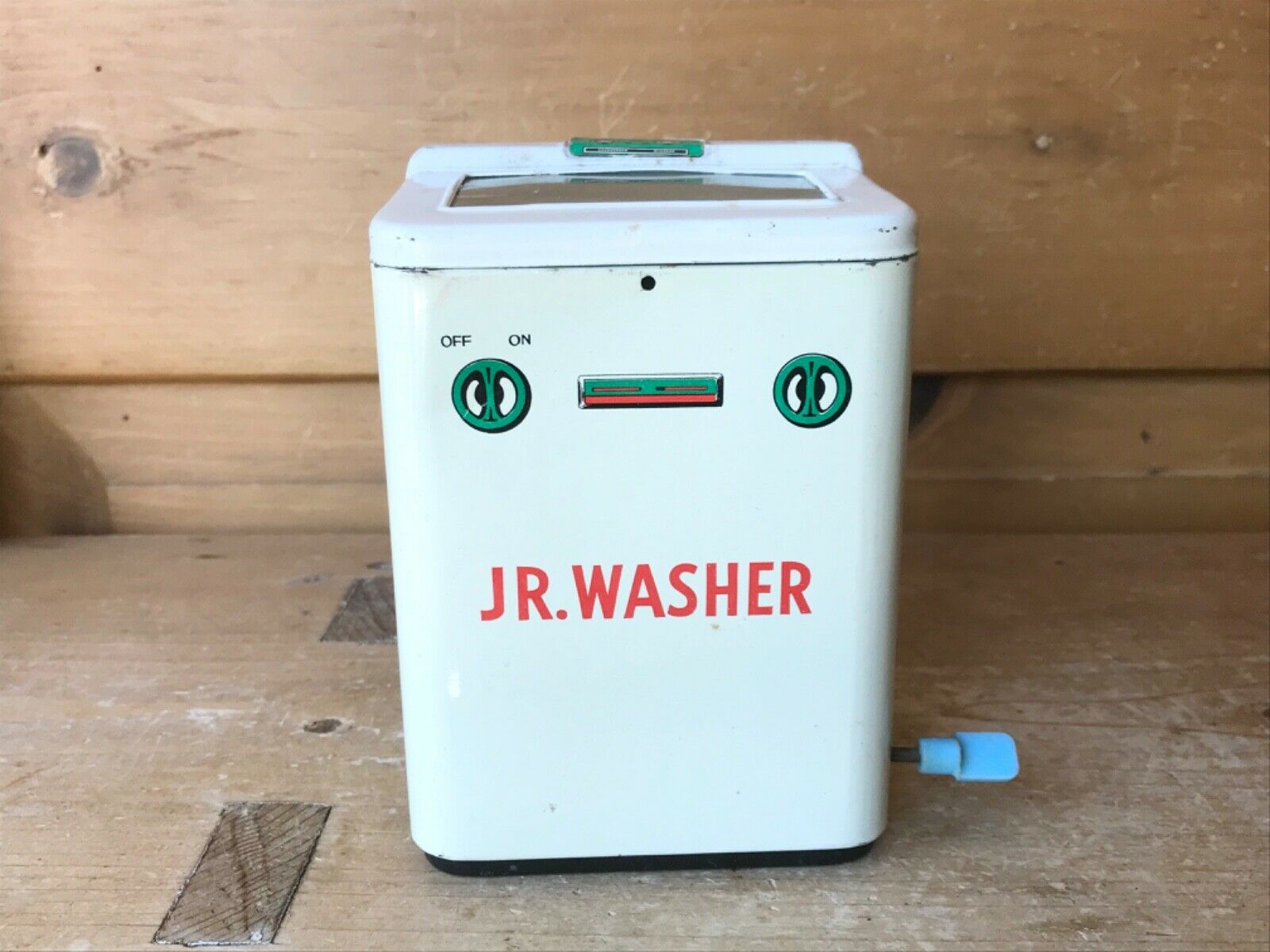 Vintage Tin Toy Jr Washer Namura TN Japan 1050s Washer Washer works