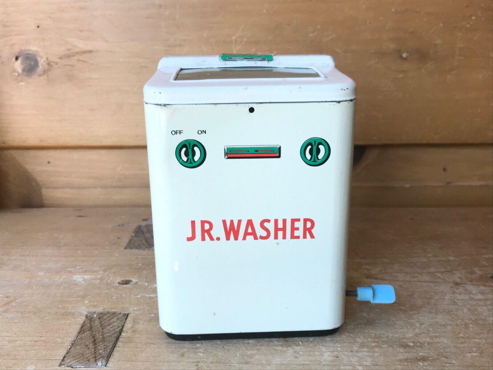 Vintage Tin Toy Jr Washer Namura TN Japan 1050s Washer works