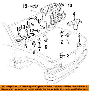 gm oem turn signal flasher 19209674 ebay. Black Bedroom Furniture Sets. Home Design Ideas