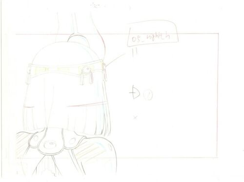Details about  /Anime Genga not Cel Queen/'s Blade 4 pages #141