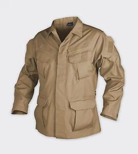 Brillant Helikon Tex Auxquelles Forces Spéciales Tactical Combat Veste Jacket Coyote Xxl Xxlarge-afficher Le Titre D'origine