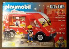 USA PLAYMOBIL City LIFE Food Truck Imbiss Wagen Laster LKW Nr 5677 Neu & OVP