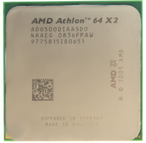 Amd Athlon 64 X2 5000 2 6ghz Am2 Ad05000iaa5d0 Ebay