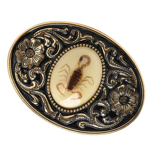 Vintage Style Western Cowboy Antique 3D Scorpion Belt Buckle for Men