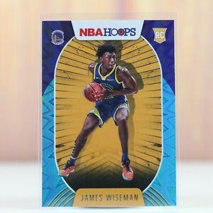 2020-2021 NBA Hoops James Wiseman Teal Explosion Rookie Card RC Warriors
