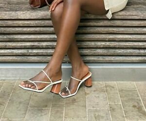 NEW-square-open-toe-thin-strap-heels-tan-mules-s-s-2020-brand-select-a-size
