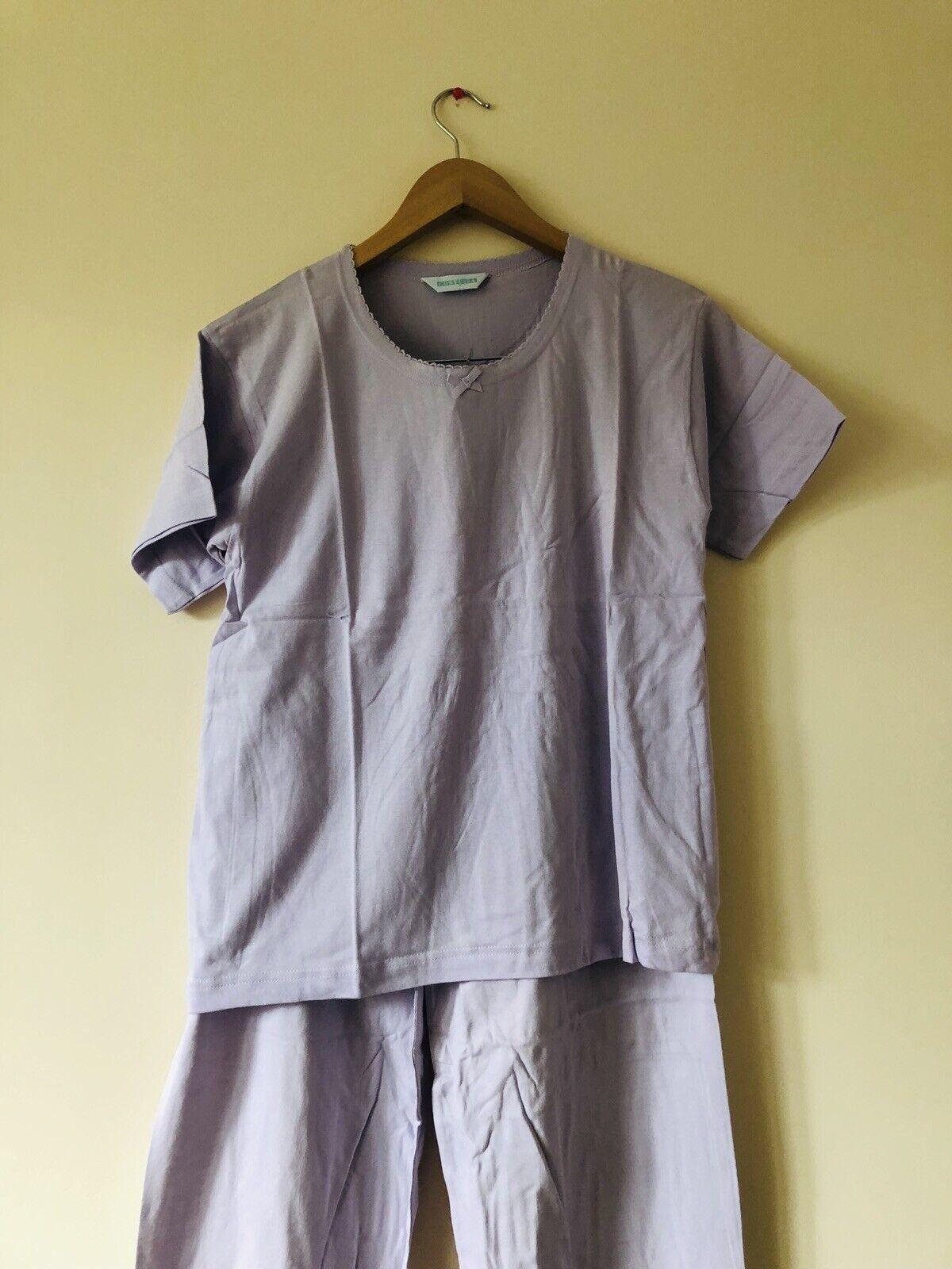 MesLes dames  Contessa  en coton à hommeches courtes Pyjama (Taille 8 10)