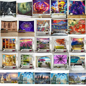 Psychedlic Tapiz Colgante De pared Hippie habitación misterioso Manta Arte Decoración Del Hogar